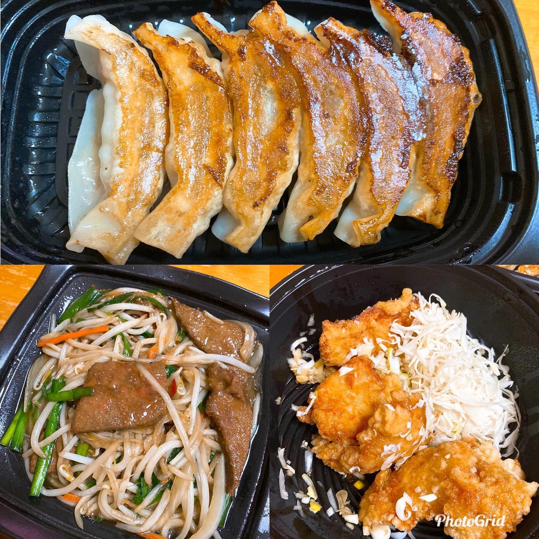 作るのが面倒になってUber eatsで大阪王将を注文。うまうま。