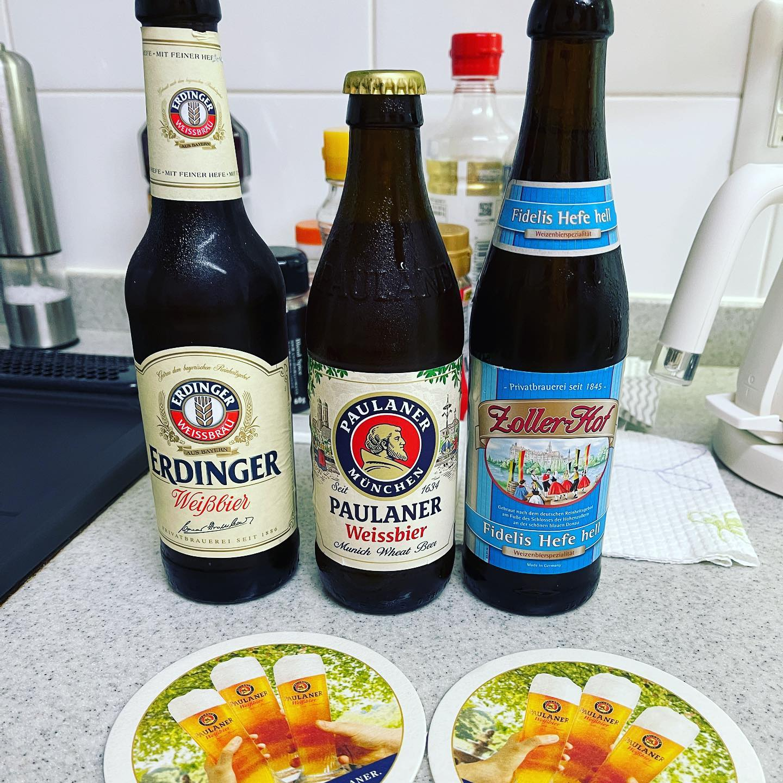 クックパッドマートで、オクトーバーフェストに出ているビールが買えました。ドイツのミュンヘンのオクトーバフェストにも行くくらいビール好きなので、買わずにはいられませんでした。とりあえず、冷蔵庫で冷やします。#クックパッドマート #オクトーバーフェスト #ドイツビール #ビール #お取り寄せ #糖質制限じゃない #これだけは譲れない #これだけはやめられない